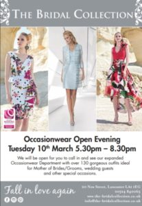 Occasionwear Open Evening Image